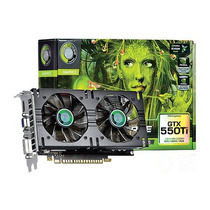 Placa De Vídeo Point Of View Gtx 550ti 192bits Dual Fan Ddr5