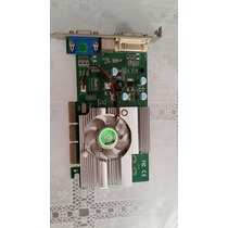 Placa De Vídeo Agp Geforce Fx5500 256 Mb E 128 Bits