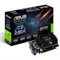 Placa Vga Asus Geforce Gtx 750 2gb Geforce 700 Frete Grátis