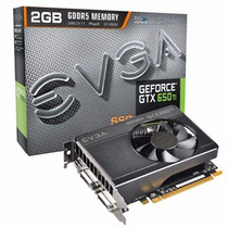 Placa De Vídeo Evga Geforce Gtx650 Ti Ssc 2gb 128 Bits