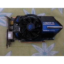 Placa De Video Sapphire Ati Radeon Hd 6750 Vapor-x 1gb Ddr5