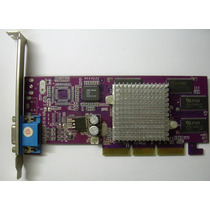 Placa De Video Agp 8x Geforce2 Mx400 64mb Svga
