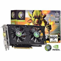 Placa De Vídeo Geforce 9800gt 1gb Gddr3 256bits Hdmi Oferta!