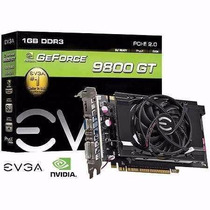 Placa Video Gpu Geforce 9800 Gt Ddr3 1gb 256 Bits Evga Frete