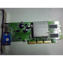 Placa De Vídeo Ati Radeon 9200 Se Agp 64mb Tv-out - Garantia