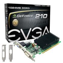 Placa De Vídeo Vga Evga Geforce G210 1gb Ddr3 Pci-e 2.0