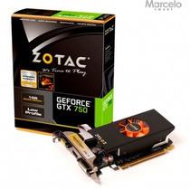 Placa De Vídeo 1gb Zotac Geforce Gtx750 128bits Frete Grátis