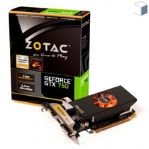 Zotac Geforce Gtx750 Placa De Vídeo 1gb Directx 11.2 Lacrada