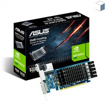 Placa De Vídeo 1gb Geforce Gt 210 Asus 64 Bit Gddr3 1gb