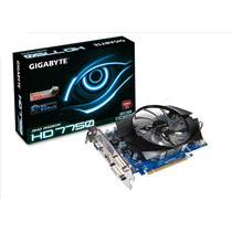 Placa De Vídeo Gigabyte Radeon Hd 7750 2gb Ddr3 128 Bits