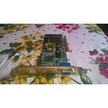 Placa De Video Agp Geforce2 Mx400 64 Mb Agp Testada