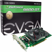 Placa De Vídeo Geforce 9800gt 1gb Gddr3 256bits Hdmi Vga Dvi