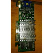Placa De Vídeo Agp Nvidia Geforce Mx4000 64mb Ddr Tv.