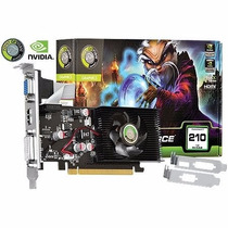 Placa De Video Geforce Gt 210 1gb Ddr2 64bits Point Of View