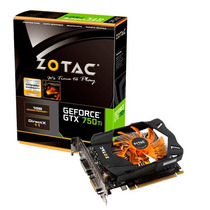 Placa De Vídeo Zotac Geforce Gtx750ti 1gb Gddr5 Zt7060310m