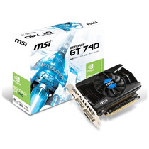 Placa De Vídeo Geforce Msi Gt740, 2gb, Ddr3 Mania Virtual