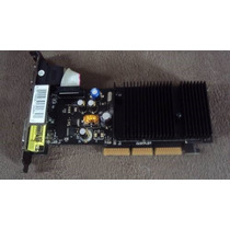 Placa De Video Gf 6200 128mb Ddr2 Tv Dvi Agp Barato