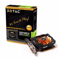 Zotac Geforce Gtx650ti 2gb Ddr5 128-bit Pci-express 3.0 X16