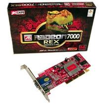 Placa De Video Tv-out Agp 4x Ati Radeon 7000 64mb Oferta
