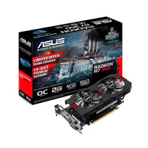 Placa De Vídeo Asus R7 360 2gb Ddr5 Oc 128bits R7360-oc-2gd5