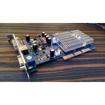 Placa De Vídeo Zogis 256mb Geforce Fx5500 Agp 100%