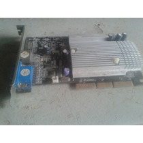 Placa Video Agp Geforce Mx 440 64mb Ddr Tv Out