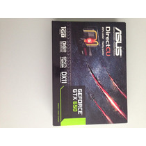 Placa De Video Gtx650 1gb Ddr5 Dcg 128bits Asus