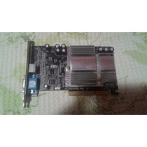 Placa Video Agp Geforce Mx 4000 128 Mb Ddr Tv Testada
