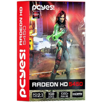 Placa De Vídeo Vga Amd Ati Radeon Hd5450 1gb/64b Ddr3 Pcyes