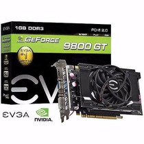 Placa De Video Gpu Geforce 9800 Gt Ddr3 1gb 256 Bits Evga