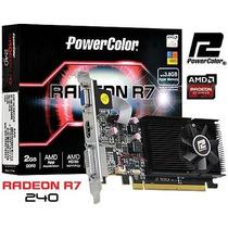 Placa De Video Radeon R7 240 2gb Ddr3 64 Bit Vga|hdmi|dvi-d
