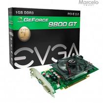 Placa Vga Nvidia Geforce 9800gt 1gb Evga Gddr3 Com Garantia