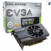 Imperdível Placa De Vídeo Gtx950 2gb Sc Evga Geforce 900