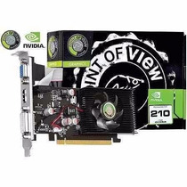 Placa De Video Pov Geforce Gt210 1gb Ddr2 64 Bits Pci-expres