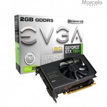 Placa De Vídeo Evga Geforce Gtx 750ti 2gb 12x Sem Juros