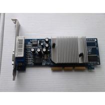 Placa Vídeo Agp - Geforce Mx4000 64mb / 32bit / Gddr