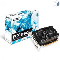 Placa De Vídeo 2gb Msi Radeon R7 360 Gddr5 Lacrado + Nf-e