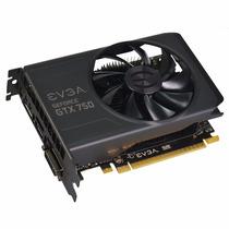 Placa De Vídeo Nvidia Evga Gtx 750 1gb Gddr5 128 Bits