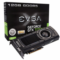 Evga Geforce Gtx Titan X Superclocked 12gb Ddr5 384 Bit