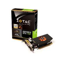 Placa De Vídeo Geforce Gtx-750 1gb Ddr5 128bits - Zotac