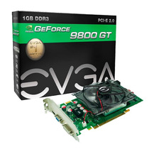 Geforce Nvidia 9800 Gt Placa De Vídeo Evga 1gb Pci-express