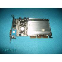 Placa De Video Geforce-mx4000 64mb Agp8x Oem