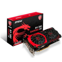Placa De Vídeo Msi Amd Radeon R9 380 2gb Gaming Com 256 Bits