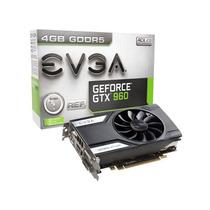 Geforce Evga Gtx Entusiasta Nvidia Gtx 960 4gb 128bit 7010m