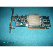 Placa De Video Geforce Mx4000 64mb Agp 8x