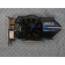 Placa De Video Sapphire Radeon Hd 6770 Vapor-x 1gb Ddr5