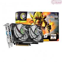 Placa De Video Geforce Gt9800 1gb 1 Monitores Frete Grátis