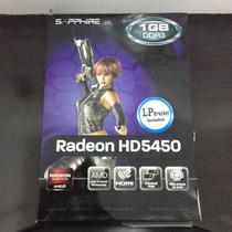 Placa Video Radeon Sapphire 1gb Ddr3.
