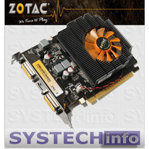 Placa De Vídeo Geforce Gt730 2gb 128bits Nvidia Zotac Gt 730