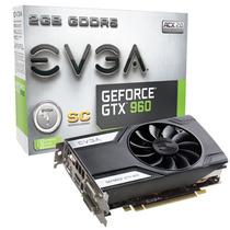 Placa De Video Vga Evga Geforce Gtx 960 Superclock 2gb Ddr5